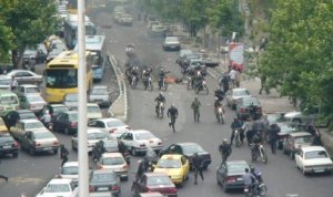 اوضاع تهران پس از انتخابات