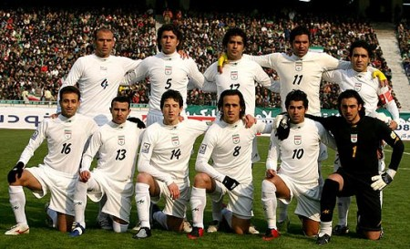 به امید موفقیت تیم ملی فوتبال ایران